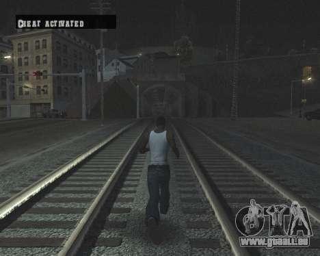 Colormod High Black pour GTA San Andreas dixième écran