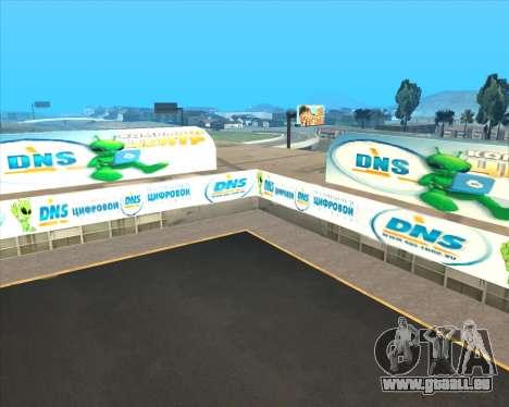 Remplacement de la publicité (bannières) pour GTA San Andreas huitième écran