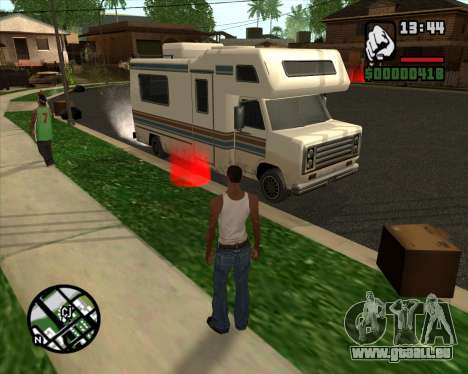 Camping Modification - Version Beta pour GTA San Andreas