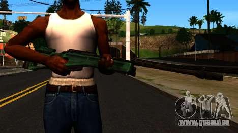 SV-98 sans le Bipied et Champ d'application pour GTA San Andreas troisième écran