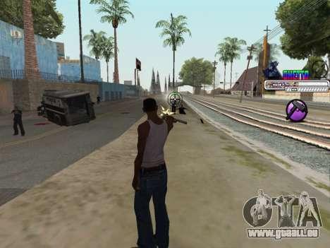 C-HUD Ghetto pour GTA San Andreas cinquième écran