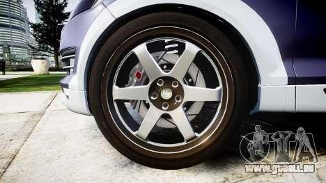 Audi Q7 2009 ABT Sportsline [Update] rims1 pour GTA 4 Vue arrière