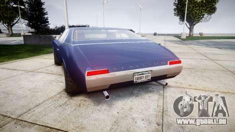 Classique Stallion Tuning pour GTA 4 Vue arrière de la gauche