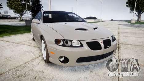 Pontiac GTO 2006 17in wheels für GTA 4
