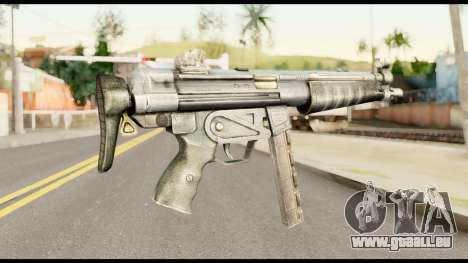 MP5 avec la Crosse Pliée pour GTA San Andreas