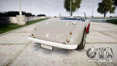 Austin-Healey 100 1959 für GTA 4 hinten links Ansicht