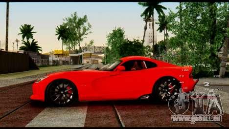 Car Speed Constant 2 v2 pour GTA San Andreas deuxième écran