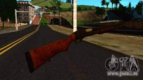 En bois MP-133 Sans Brillant pour GTA San Andreas deuxième écran