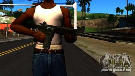 M4 from GTA 4 für GTA San Andreas dritten Screenshot