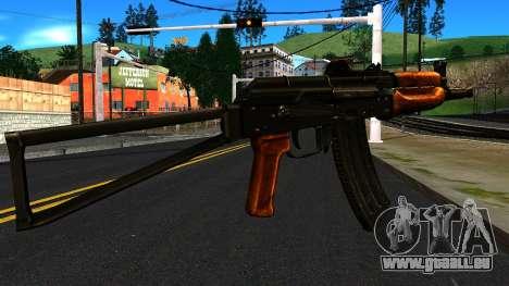 Lumineux AKS-74U v1 pour GTA San Andreas deuxième écran