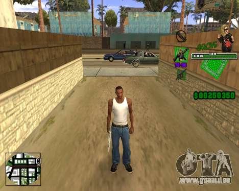C-HUD Grove St. für GTA San Andreas