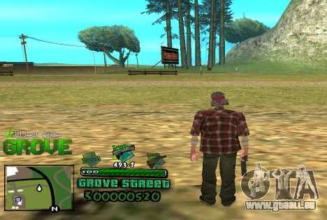 C-HUD Groove für GTA San Andreas
