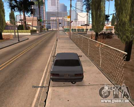 Car Name für GTA San Andreas zweiten Screenshot