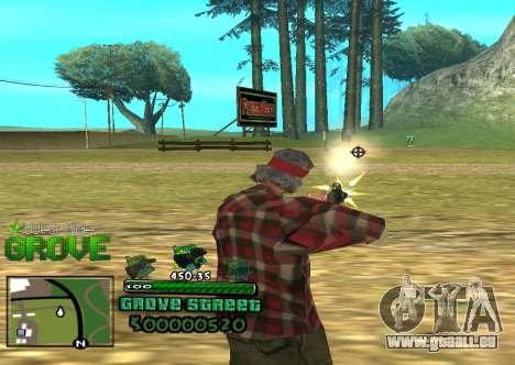 C-HUD Groove für GTA San Andreas zweiten Screenshot