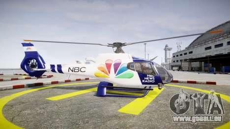 Eurocopter EC130 B4 NBC für GTA 4 linke Ansicht