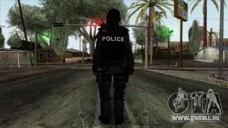 Police Skin 12 pour GTA San Andreas deuxième écran