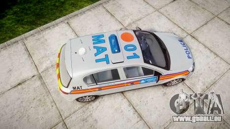 Vauxhall Astra 2005 Police [ELS] Britax für GTA 4 rechte Ansicht