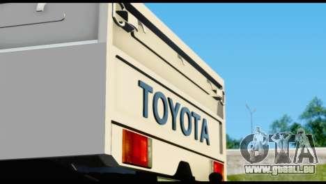 Toyota Land Cruiser Macho Pick-Up 2007 4.500 für GTA San Andreas Innenansicht