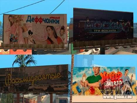 Remplacement de la publicité (bannières) pour GTA San Andreas deuxième écran