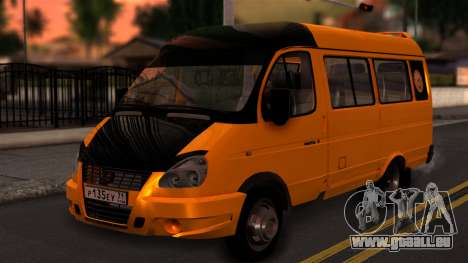 GAZelle 3221 2007 pour GTA San Andreas