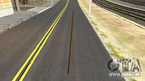 Poolcue from GTA 4 pour GTA San Andreas deuxième écran