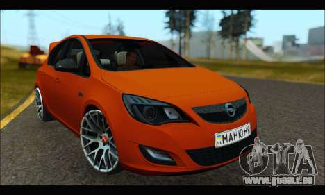 Opel Astra J pour GTA San Andreas
