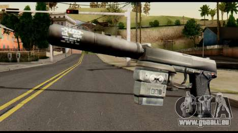 Silenced Socom from Metal Gear Solid pour GTA San Andreas