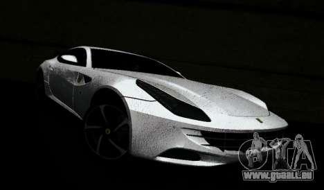 Ferrari FF für GTA Vice City zurück linke Ansicht