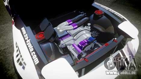 Mazda RX-7 Rocket Bunny MadMake für GTA 4 Innenansicht