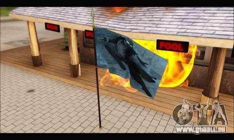 Flag Spiderman Noir für GTA San Andreas zweiten Screenshot