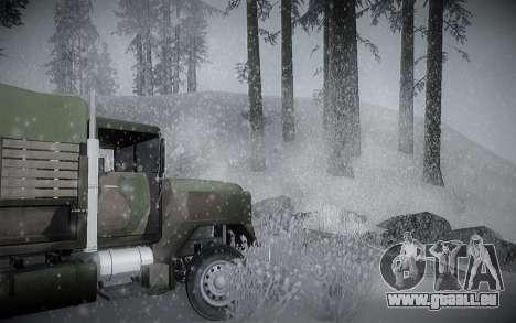 Winter ENBSeries für GTA San Andreas sechsten Screenshot