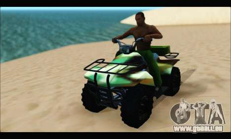 ATV Army Edition für GTA San Andreas