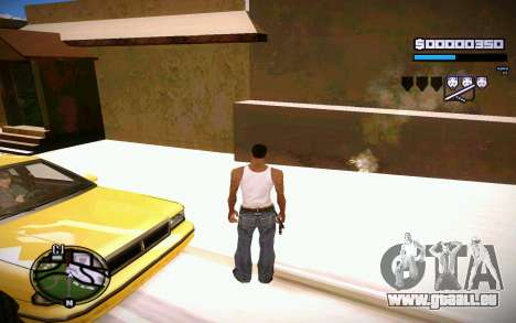 HUD GOSKA für GTA San Andreas her Screenshot