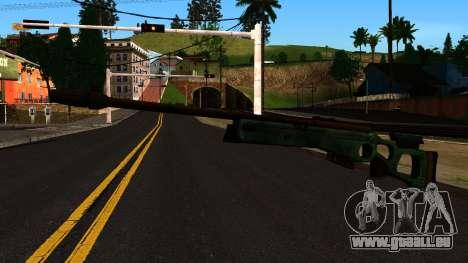 SV-98 sans le Bipied et Champ d'application pour GTA San Andreas