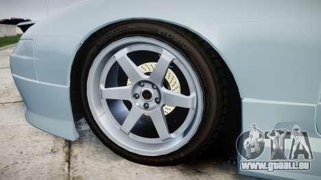 Nissan Onevia S15 für GTA 4 Rückansicht