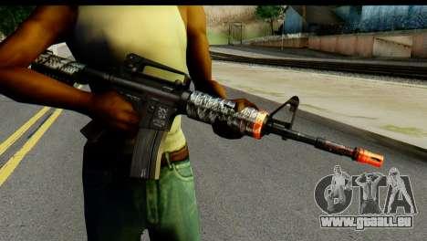 Kill Em All M4 für GTA San Andreas