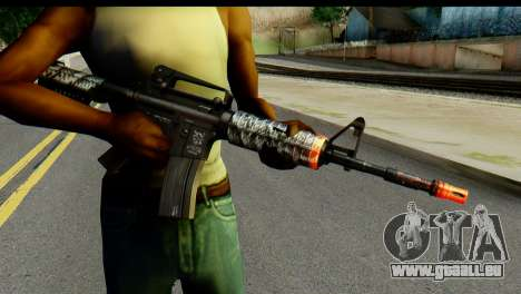 Kill Em All M4 pour GTA San Andreas troisième écran