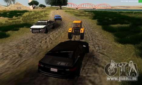 De nouvelles voies de transport pour GTA San Andreas