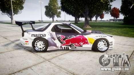 Mazda RX-7 Rocket Bunny MadMake für GTA 4 linke Ansicht