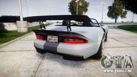 Bravado Banshee GTR pour GTA 4 Vue arrière de la gauche