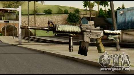 SOPMOD from Metal Gear Solid v3 pour GTA San Andreas