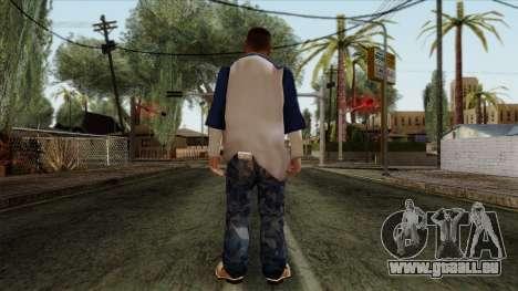 GTA 4 Skin 20 pour GTA San Andreas deuxième écran