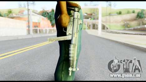 MP5 mit dem Hintern Gefaltet für GTA San Andreas dritten Screenshot