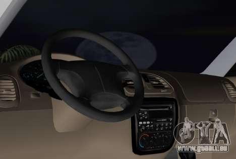 Daewoo Nubira I Wagon CDX US 1999 pour GTA Vice City vue latérale