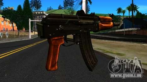 Lumineux AKS-74U v2 pour GTA San Andreas deuxième écran