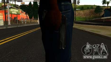 Colt M1911 from S.T.A.L.K.E.R. pour GTA San Andreas troisième écran