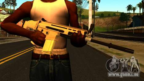 FN SCAR-H from Medal of Honor: Warfighter pour GTA San Andreas troisième écran