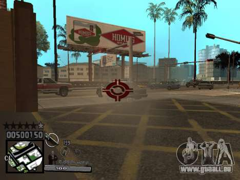 C-HUD Russian Mafia für GTA San Andreas dritten Screenshot
