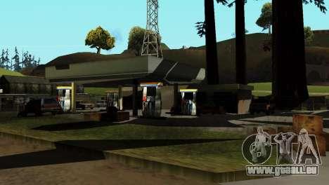Recovery-Stationen San Fierro Land für GTA San Andreas fünften Screenshot