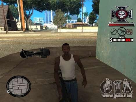 C-HUD for Ghetto pour GTA San Andreas troisième écran